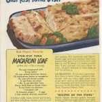 Tuna Macaroni Loaf