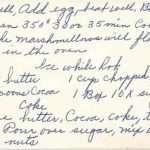 Continuation o f Helen's Coke Cake